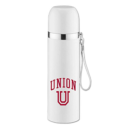 Caryonom Union University Insulated Water Bottle Travel Mug Vacuum Cup For Office Home Outdoor Adult (Kids Union Officer Hat)