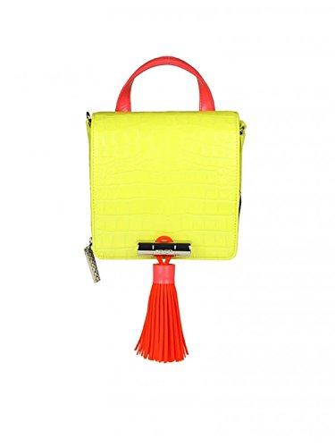 Gelb Handtaschen Damen Leder F852SA002B1239 Kenzo qwfESyZaw
