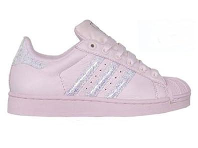 Adidas Originals Superstar 2 Sneaker rosa, Größe:36