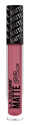 L.A. Colors Matte Liquid Lip Color, Pumped Pink, 3.9g