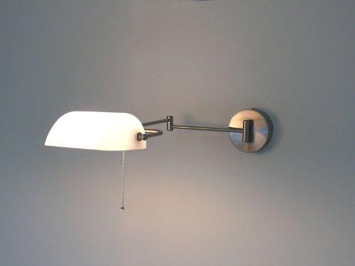 Lampada da parete design jack wall wh lampada banker vetro