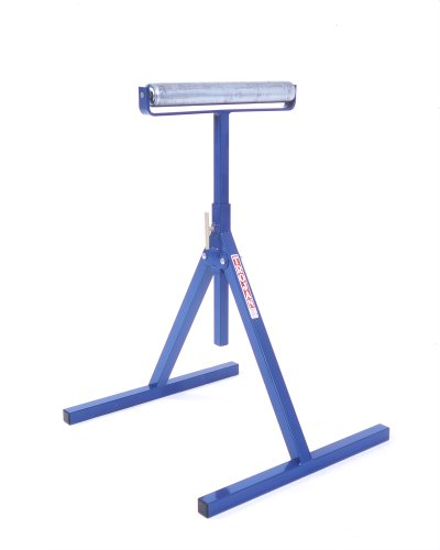 Trojan RS-15 Adjustable 24-Inch to 40-Inch Multi-Directional Pedestal Roller Stand with 15-Inch Roller by Trojan