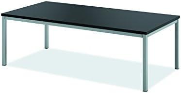 HON HML8852 Metal Leg Coffee Table, Black
