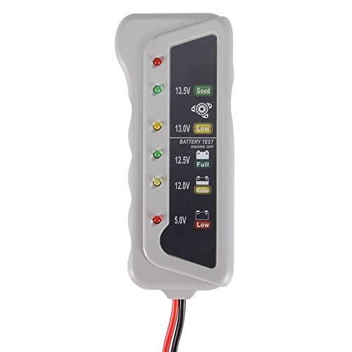 Battery Alternator Tester,Battery & Alternator Tester 12v For Motorcycle, Golf Cart, Battery Car: