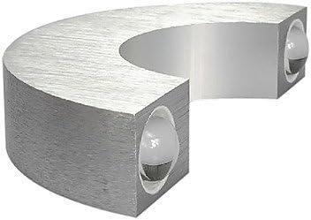 Longless Wandleuchter - Birne inklusive - Modern/Zeitgemäß - Metall , White