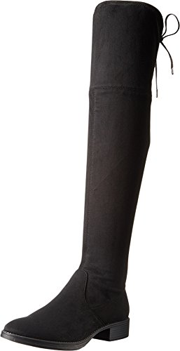 Circus by Sam Edelman Women's Peyton Over The Knee Boot, Black Microsuede, 8.5 M US