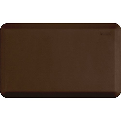 Smart Step Home Collection 32 Inch by 20 Inch Classic Mat, Brown