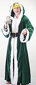 [World Book Day-Dickens-A Christmas Carol-Scrooge- DELUXE GHOST OF CHRISTMAS PAST Adult's Fancy Dress Costume - All Men's Sizes (XL)] (Dickens Christmas Carol Costumes)