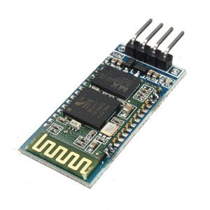Wireless Serial 6 Pin Bluetooth RF Transceiver Module HC-05 RS232 TOP