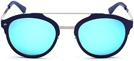 """PRIVE REVAUX """"The Producer"""" Handcrafted Designer Polarized Round Sunglasses"""