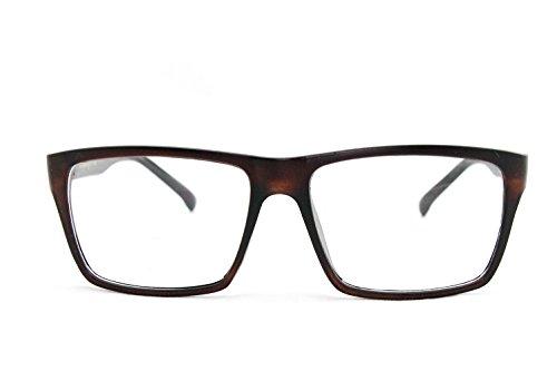 4c19d2f5b1e Newbee Fashion® - IG Unisex Retro Squared Celebrity Star Simple Clear Lens  Fashion Glasses - Buy Online in Oman.