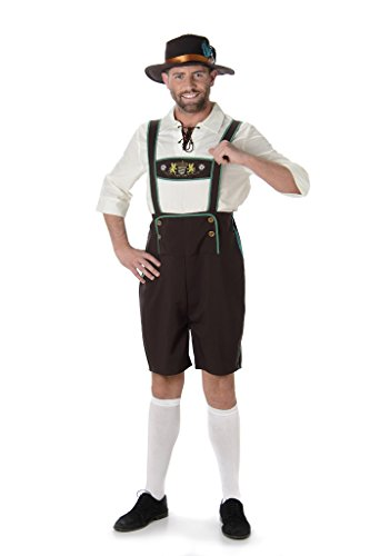 [Bavarian Man - Halloween Costume (M)] (Viking Outfits For Adults)