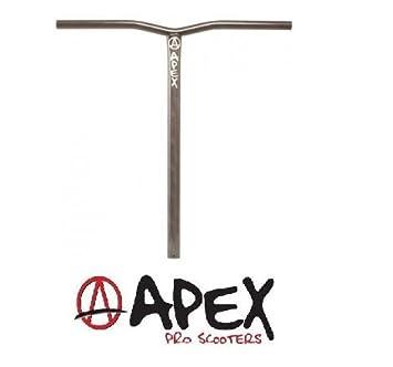 Apex Bol Stunt-Scooter. Barra de patinete + adhesivo Fantic26, HIC oversize Ø34,9 raw: Amazon.es: Deportes y aire libre