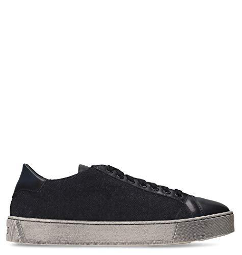 Uomo Mbgl20868sportwau60 Pelle Santoni Blu Sneakers 5WxqpnxF