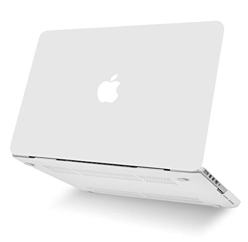 "KECC Laptop Case for MacBook Air 13"" w/Keyboard Cover Plastic Hard Shell Case A1466/A1369 2 in 1 Bundle (Sand White)"