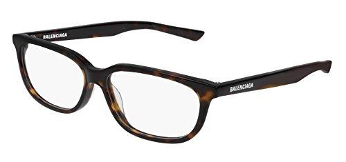 Balenciaga BB0032O Eyeglasses 004 Havana-Havana 55mm
