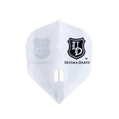 Flight-L×ULTIMA DARTS【フライトエル×アルティマダーツ】 アルティマダーツ ロゴ シェイプ ホワイト (Shape White L3c) | シャンパンリング対応