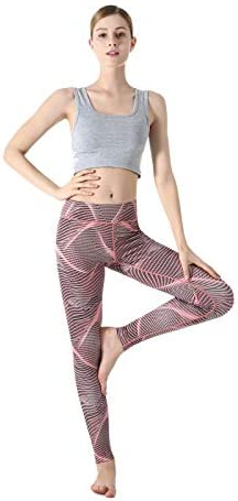 ZOANO High Waisted Printed Yoga Pants for Women Workout Leggings Running Pants 5
