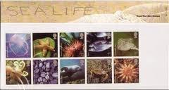 2007 Sea Life Royal Mail Presentation Pack No.393