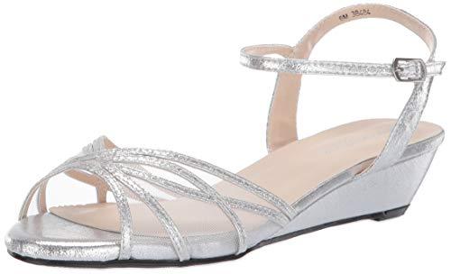 (Touch Ups Women's Desi Wedge Sandal Silver 11 M US)