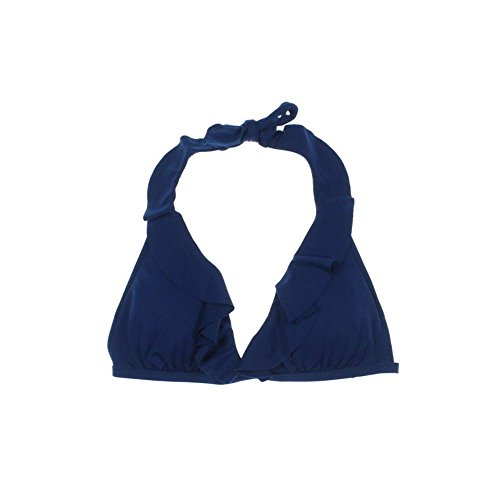 Ralph Lauren Blue Label Ruffled Halter Bikini Top ()