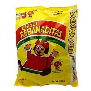Candy Pop Rebanaditas Mexican Candy