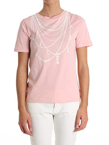 Boutique T Algodon Moschino A120211401224 Rosa shirt Mujer rqrRX6
