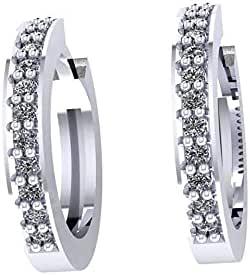 Dar Platinum Plated Clips Earring For Women (Dar0000256)