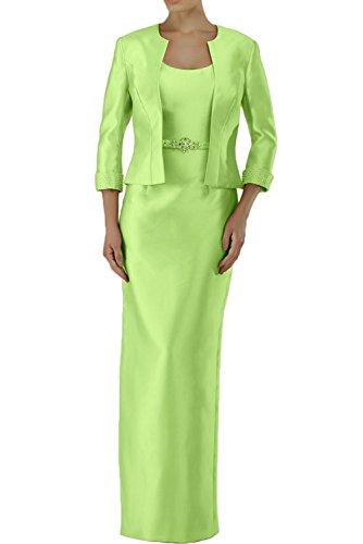 Formalkleider Brautmutterkleider lang Langarm Etuikleider Charmant Damen Abendkleider Festlichkleider Orange Formalkleider Weiss p8qqRtxwT
