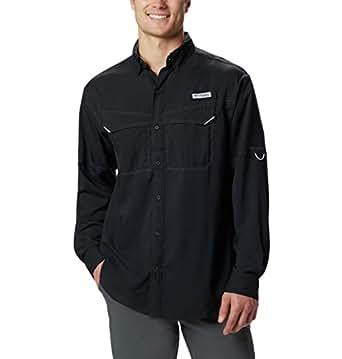 Columbia Men's Low Drag Offshore Long Sleeve Shirt, Black, X-Small