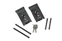 SKB TSA Locking Latch Kit (2-Piece), Medium, Black