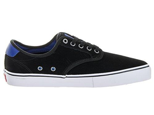 Vans Chima Pro (Real Skateboards) schwarz/True Blue Schuh va347em3F