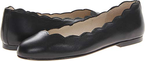 (French Sole Women's Jigsaw Black Nappa Leather 5.5 M US)