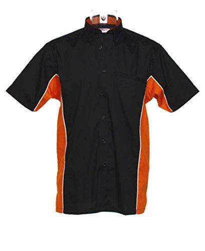 Gamegear - Camisas - para mujer Black/ Orange/ White