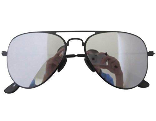 Eyekepper lunettes de soleil rose Aviateur/pilote Cadre en acier inoxydable MubyW
