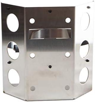"""Power Tank BKT-2285-SS Propane Power Bracket for 8"""" Diameter Propane Bottle - Stainless Steel"""