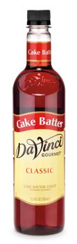 Da Vinci Cake Batter Syrup, 750 ml Bottle ()