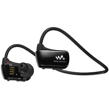 Sony Walkman NWZW273S 4 GB Waterproof Sports MP3 Player (Black) with Swimming Earbuds