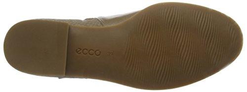 ECCO Ecco Tari 20 - Botines Derby para mujer Beige (Sepia)