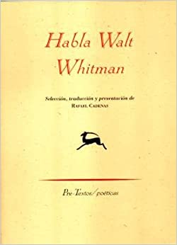 Book Habla/ Speak by Walt Whitman (2008-02-14)