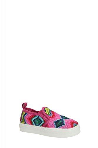 DESIGUAL Kinder-Sneakers LONA pink/bunt Gr. 25