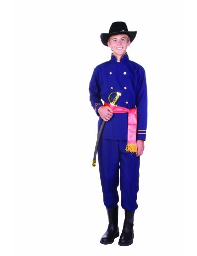 [Teen 14-18 Union Officer Costume (hat not included)] (Military Costumes For Teens)