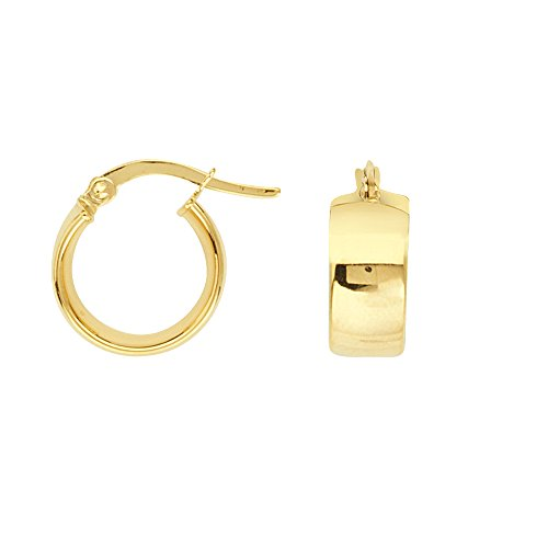 Hoop Earrings, 14Kt Gold Hoop
