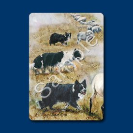 Border Collie Playing Cards - Set of Two
