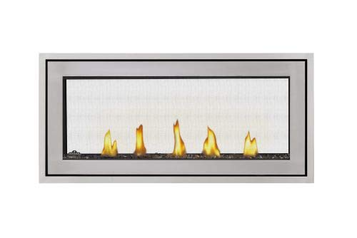 Acies 38 See Thru Direct Vent Natural Gas Fireplace - Package 4