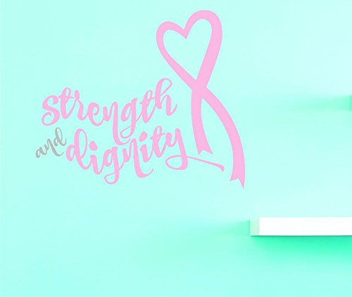 As Seen 20 x 30 As Design with Vinyl US V JER 4032 3 Top Selling Decals Strength And Dignity Wall Art Size 20 Inches X 30 Inches Color