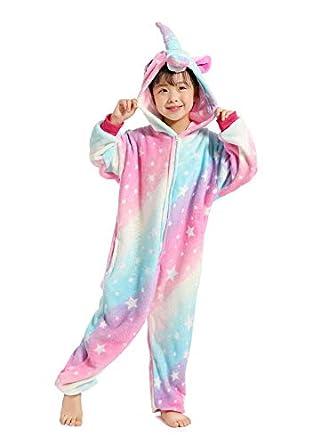 7b2c22d6a9 UMIPUBO Pijama Animal Niña Unisexo Cosplay Traje Disfraz Niña Animal Pijamas  Onesies Ropa de Dormir Halloween y Navidad  Amazon.es  Ropa y accesorios