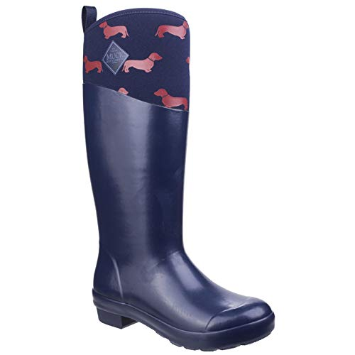 Wellies Boots Red Dogs Tall Navy Tremont Womens Muck I6wxCgCd