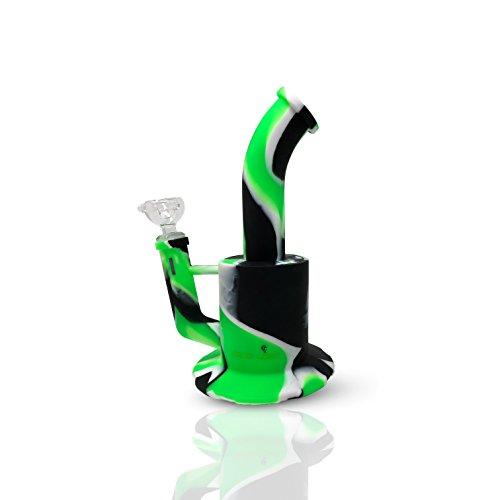 Skunk Labs Indestructible Platinum Cured / FDA Food Grade Silicone Flower Rig 14mm
