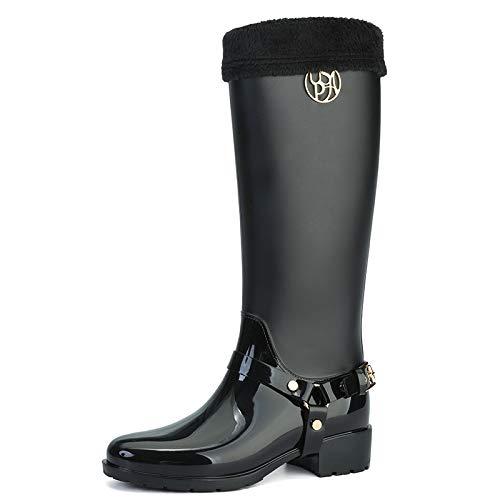 Agua B Alto Lluvia Señora Botas Cai De Tubo Zapatos Moda amp;hong Ghh umbrella w7fqXPv